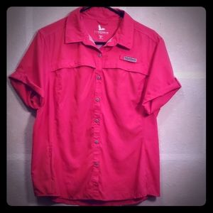Field & Stream Pink Shirt